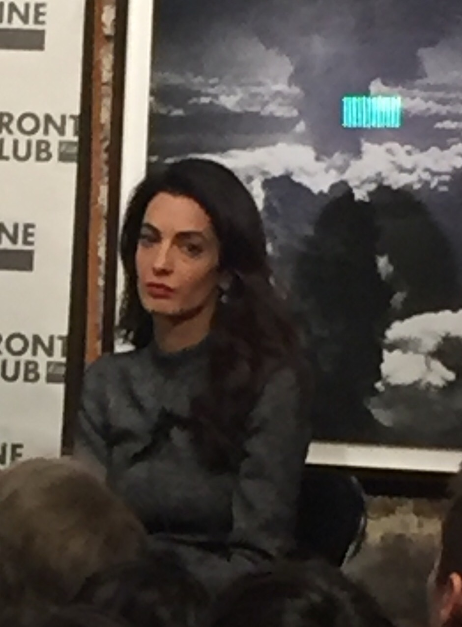 Amal Clooney Keeps Distracting Me With the Words Coming Out